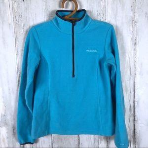 COLUMBIA Omni Heat 1/2 Zip Fleece Pullover XS